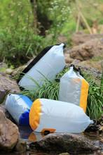 PVC mesh waterproof sack dry bag for hiking, climbing, surfing, caving, camping etc.