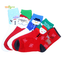 2015 Fashion six sets christmas stocking for christmas gift in one box