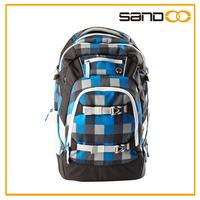Practical economical ergonomic school bag, good school bag fabric