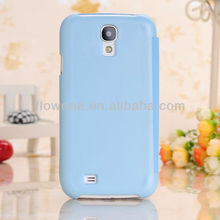 FL712 simple left right flip leather case for samsung galaxy s4,high quality luxury cover housing protective case for galaxy s4