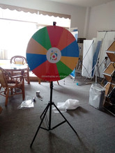 DM 24'' heel of fortune for sale,spinning prize wheel,fortune wheel