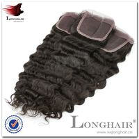 Human Hair Brazilian Hair Lace Silk Top Closure