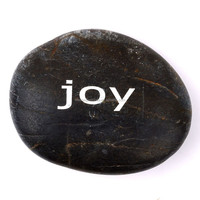 Wholesale natural customize engraving black pocket stones