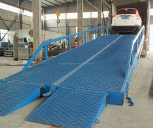 CE-approved container yard ramp/dock ramp