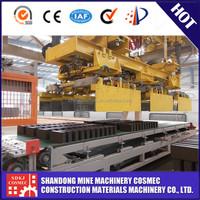 China top brand compressed earth brick block making machine