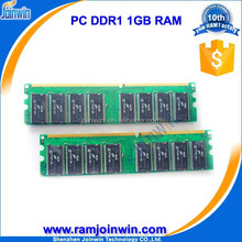 Refurbished full compatible 16C 1gb ddr ram memory