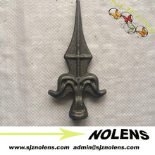 Ornamental Wrought Iron,Wrought Iron Spearheads,Spear Points,Wrought Iron Spear Finials For Fence/Gate Decorative