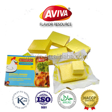 4G HALAL CHICKEN FLAVOR BOUILLON CUBE MANUFACTURER KOSHER CHICKEN STOCK CUBE FOR HALALCOOKING[AVIVA CUBES]