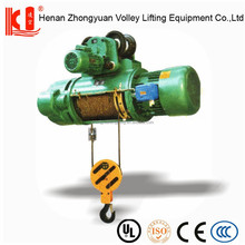 CD1 hoist construction elevator/lift wire rope winch for crane