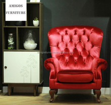 New design chestfield wingback chair with high quality
