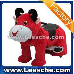 LSJQ-227 puppy battery coin operated funny dog walking animal rides for sale kiddie ride for kids game machine