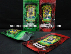 Aromatic Herbs Bag aromatic herbs ziplock bag with tear gas