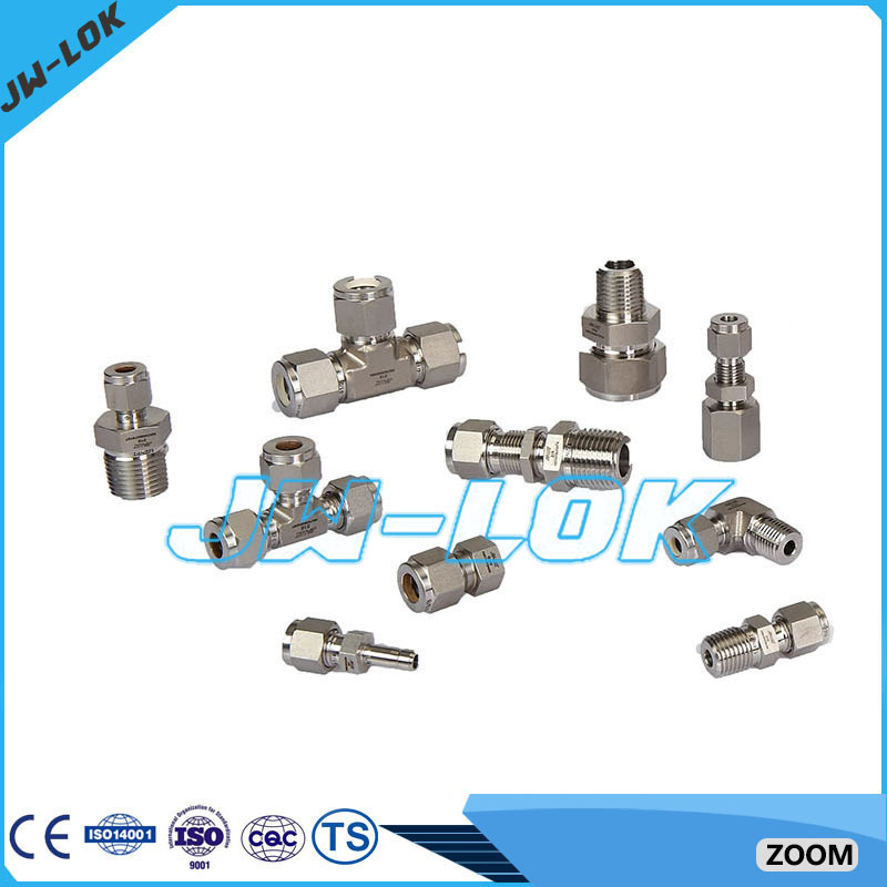 Same swagelok type seamless tube fittings compression