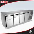 304 açoinoxidável comercial cozinha tampo da mesa freezer/freezer balcão/undercounter freezer