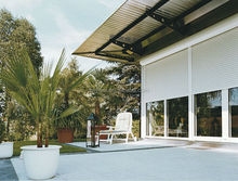 White Fire-proofing security Aluminum roller shutters 2012 Best Sale Sectional Furniture
