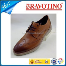 2015 latest Italian style fashion dress genuine top brand man leather shoe
