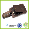 2015 new arrival real leather golf bag tag Travel luggage tag