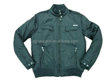 fashion artificial padded jacket for man