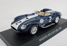 1958 maserati 450 s gp cuba mini die cast metal cooper model car