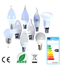 3W 5W 6W E14 E27 B22 LED Candle Golf R50 Bulb Warm Cool Daywhite light