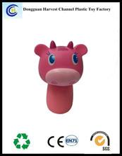 Promotional mini animal plastic telescopic ballpen