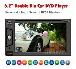 China factory Android 4.4 car radio 2 din android car dvd/Universal 2 din 6.2 inch car dvd player/2 din car pc