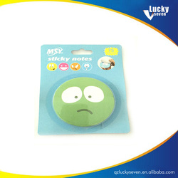 Cheap Custom Wholesale Sticky Fruit Shape Memo Pad