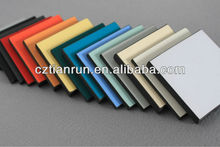 water-resistant phenolic board for high class lavatory partition