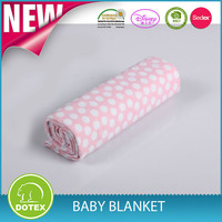 Contemporary best-selling knitted baby blanket cotton muslin swaddle blanket