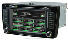 car dvd player for Skoda Octavia 2012 with gps bluetooth, ipod, analog tv, canbus, IPAS, OPS.reversing function