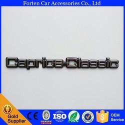 Car Caprice-Classic 3D Letter ABS Chrome Trunk Sticker Badge Emblem