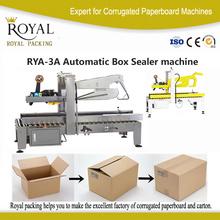 automatic carton sealer with guard
