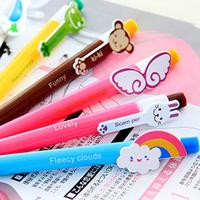 Office & school supplies cute cartoon plastic ballpoint pen