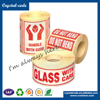 Blank and printing self adhesive scratch off label
