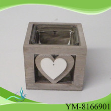glass candle holder outdoor home decoration