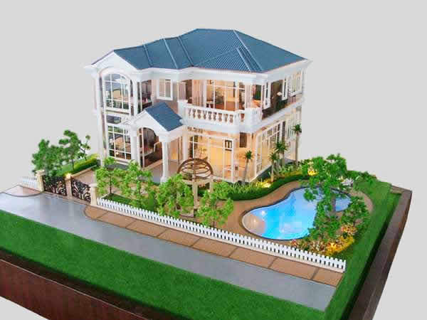 Architecture design service real estate villa interior for House models for construction