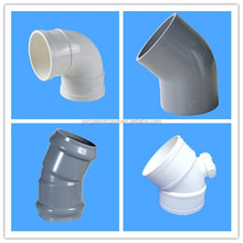 ISO standard pvc/upvc pipe fittings 30 degree elbow fittings ,pipe elbow dimensions sell hot
