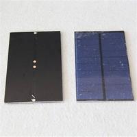 Customized 137*81mm 5V 1.5 Watts PET laminated solar panel for led lights