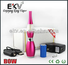 2014 China EKV glass pipe vaporizer pen BOW A1 flower vase colorful rebuildable atomizer max manufacturer