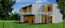 2014 China good price and good quality project building coating exterior and interior wall stone marble tuxture art paint