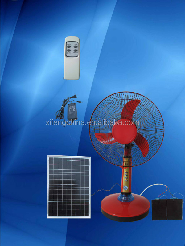 2015 hotchina guangdong12v dc battery charger table fan for 12v dc table fan price