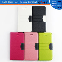 For iPhone 6 Leather Case With Stand And Credit Card Slot