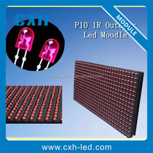 china pixel pitch 10mm led module light led screen module P10