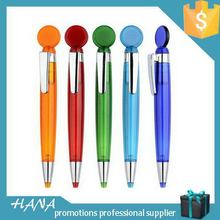 Design best sell beautiful color plastic ballpoint pen
