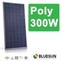 Bluesun cheap price 270w polycrystalline solar panel, philippine export products