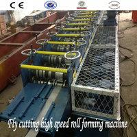 Gypsum Drywall Metal Stud & Track Roll Forming Machine Produce Three Profiles