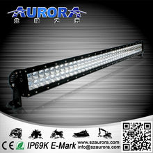 High lifespan special optical system AURORA 40'' 400W dual row led light for car accessories tuning