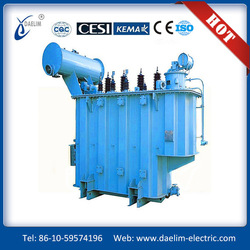 Zhejiang 35kv level SZ9- SZ10- SZ11-Series three-phase oil-immersed on-load-tap-changing power transformer