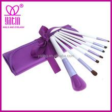 High quality 7pcs premium custom makeup brush factory, emily makeup brush