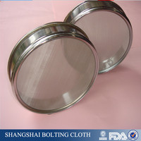 Stainless Steel Standard Test lab Sieve; sieving screen mesh